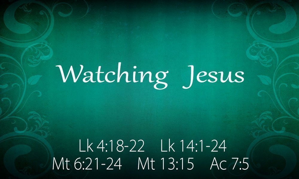 Watching Jesus Image