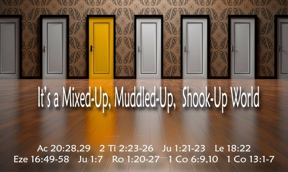 It\'s a Mixed-Up, Muddled-Up, Shook-Up World