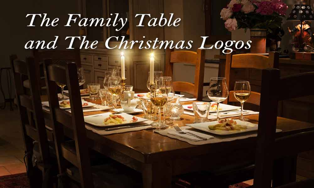 The Family Table and The Christmas Logos Image