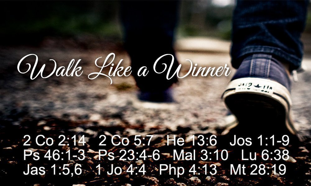 Walk Like a Winner Image