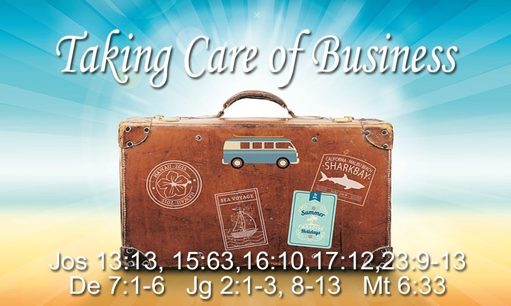Taking Care of Business Image