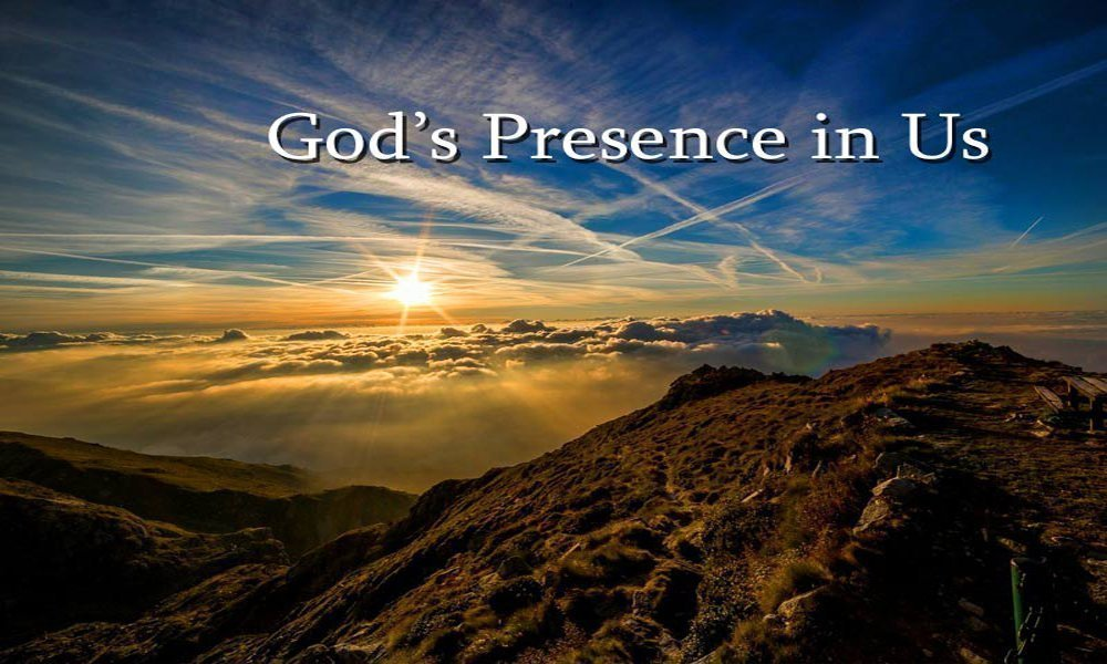 God's Presence in Us Image