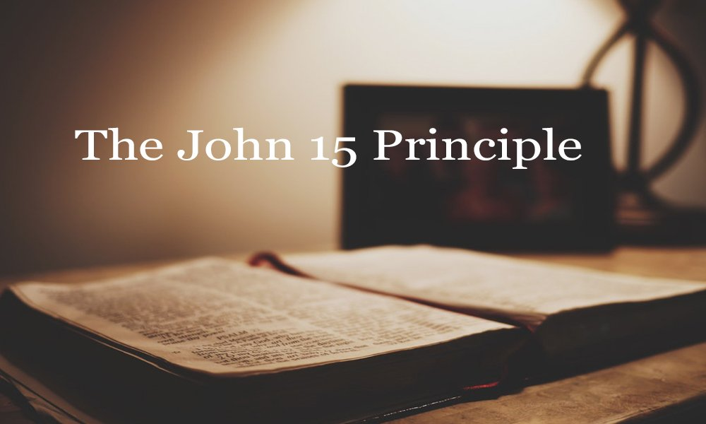 The John 15 Principle Image