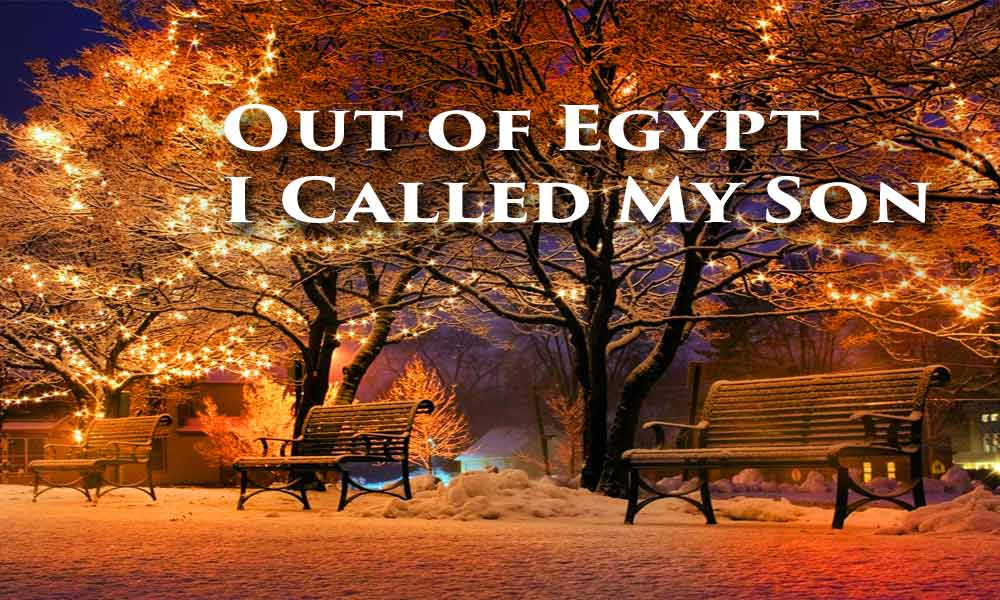 Out of Egypt I Called My Son Image