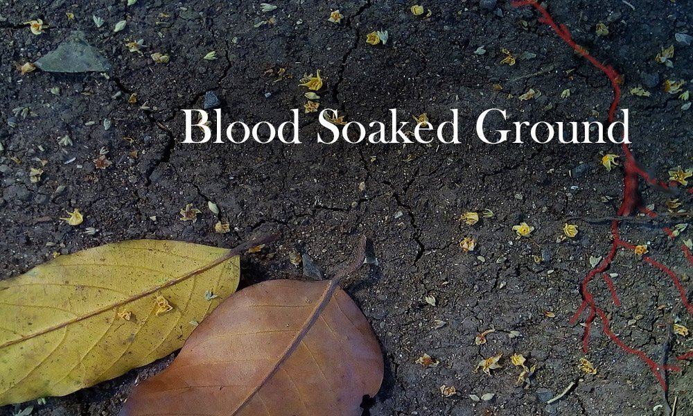 Blood Soaked Ground Image