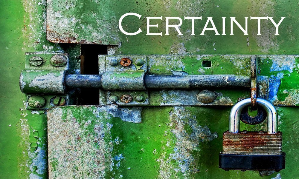 Certainty Image