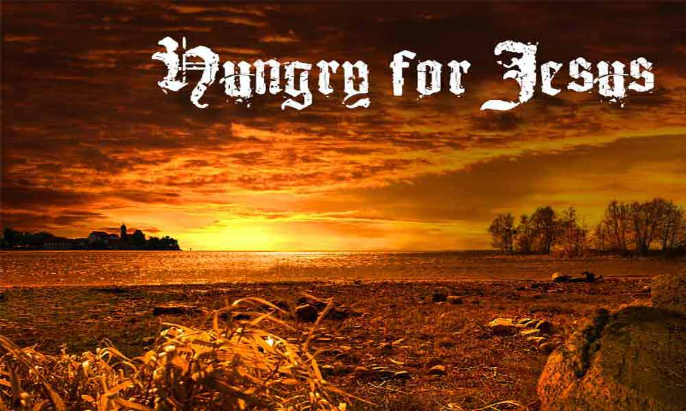 Hungry for Jesus Image