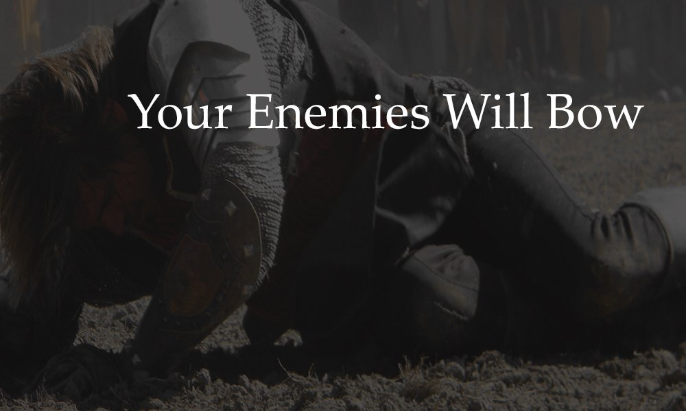 Your Enemies Will Bow Image
